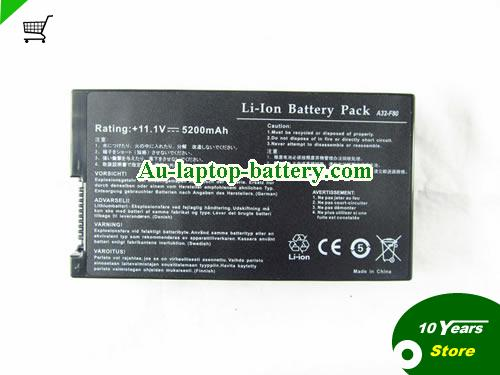 AU New A32-F80 A32-F80A Replacement Battery for Asus F50 F50Gx F50Q F50sv-x1 Laptop