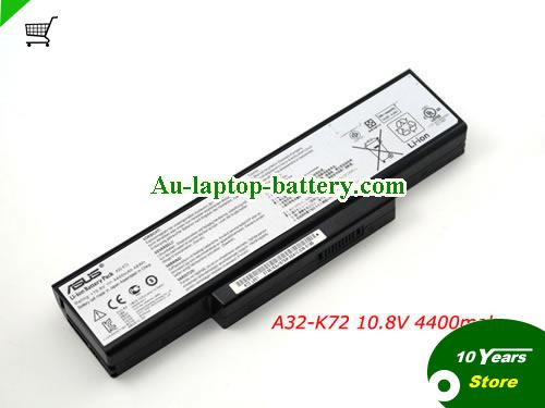 AU Original ASUS A32-K72 Battery for X73 X73S N73J K72JK K72JR K72DR K72F K72J K72JA K72JB 70-NZYB1000Z Laptop
