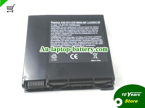 AU Replacement ASUS G74 laptop battery for asus G74J G74S G74SX G74SW G74JH Series, 5200mah, 8cells