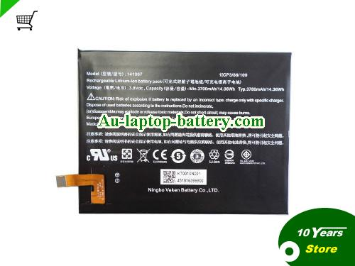 AU 141007 Battery For ACER Iconia Talk S A1724 A1-724 Series