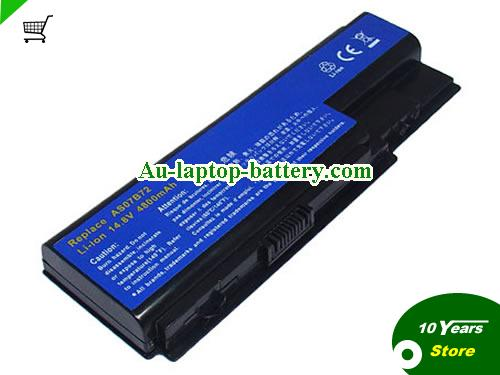 ACER AS07B71 Battery 4400mAh 14.8V Black Li-ion