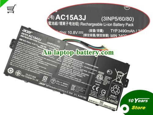 AU Genuine ACER AC15A3J Battery For Chromebook 11 Series Laptop