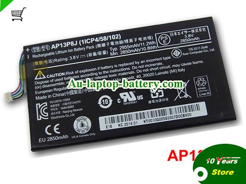 AU AP13P8J Battery for ACER Iconia Tab B1-720 Tablet
