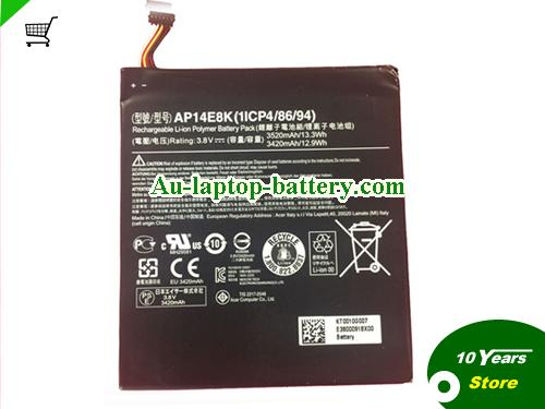 AU ACER AP14E8K AP14F8K Battery For Iconia One 7 B1-750