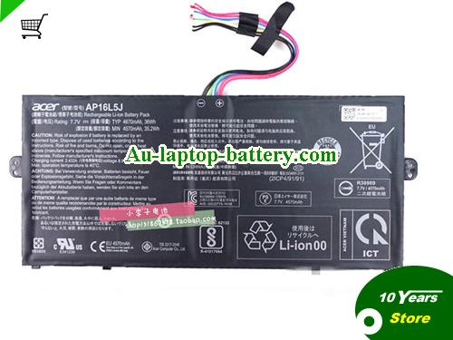 ACER 2ICP4/91/91 Battery 4670mAh, 36Wh  7.7V Black Li-ion