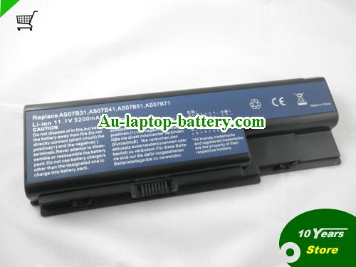 ACER AS07B71 Battery 5200mAh 11.1V Black Li-ion