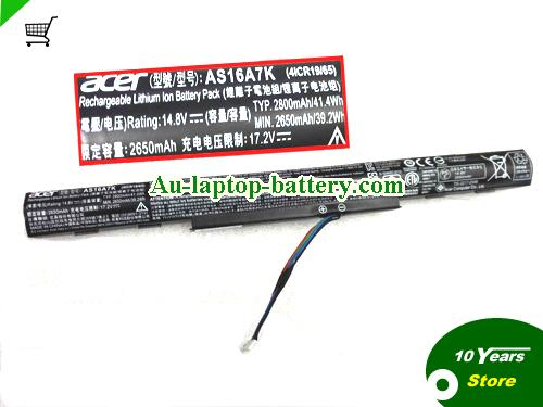 AU ACER AS16A5K AS16A6K AS16A7K Battery For Aspire E5 Series