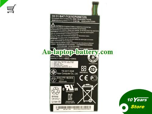 ACER 1S1P Battery 4040mAh, 15Wh  3.7V Black Li-ion