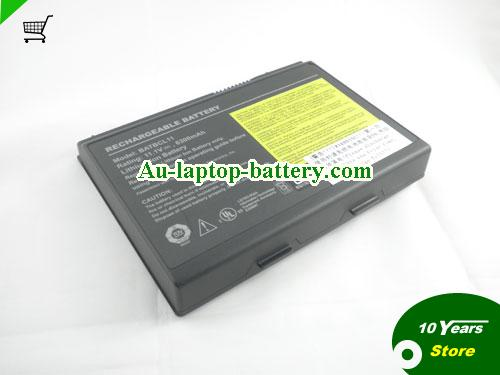 ACER LIP-9092 Battery 6300mAh 11.1V Black Li-ion