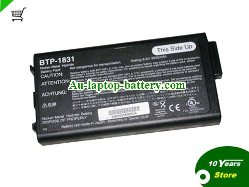 ACER 60.45B04.011 Battery 3500mAh 9.6V Black Li-ion