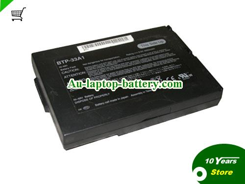 AU ACER BTP-33A1,PC-AB6100AA,TRAVELMATE 200 Series Laptop Battery Black