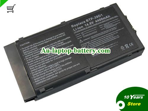 ACER 91.42528.001 Battery 3920mAh 14.8V Black Li-ion