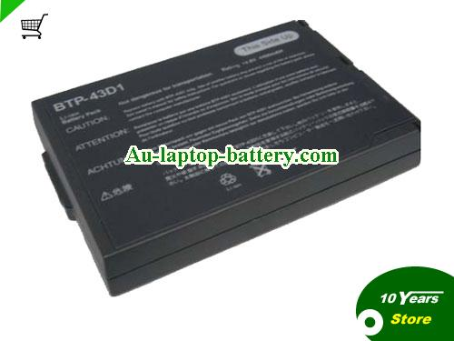 ACER 60.49S22.011 Battery 4400mAh, 65Wh  14.8V Black Li-ion
