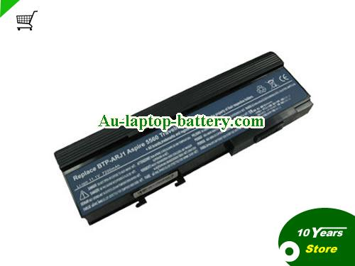 ACER BTP-AQJ1 Battery 6600mAh 11.1V Black Li-ion