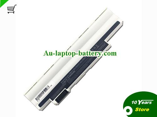 AU New Acer Aspire One D260 522 D255-1134 Replacement Laptop Battery AL10A13 AL10B31 White