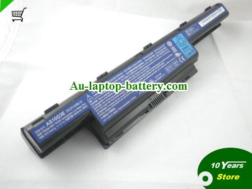AU Acer AS10G3E 3ICR19/66-3 Battery 11.1V 12-Cell