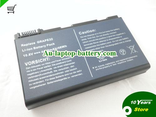 ACER LC.BTP00.006 Battery 5200mAh 11.1V Black Li-ion