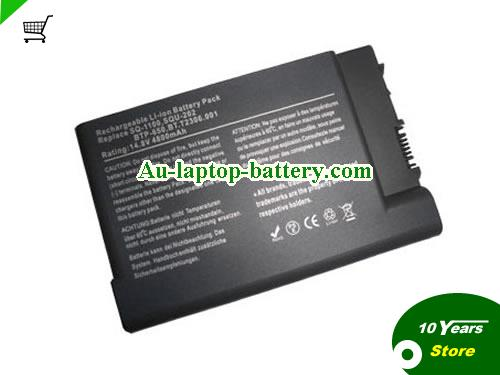 AU ACER BTP-650, SQ-1100, SQ-2100, SQU-202, TravelMate 8000 Series, TravelMate 650, TravelMate 800 6000, Ferrari 3000, Aspire 1450 Series Battery
