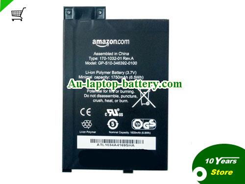 AU S11GTSF01A Battery For Amazon  Kindle 3 series 170-1032-01