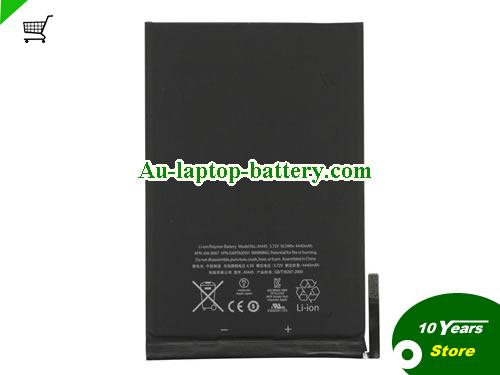 APPLE MD540LL/A Battery 4440mAh, 16.5Wh  3.72V Black Li-Polymer
