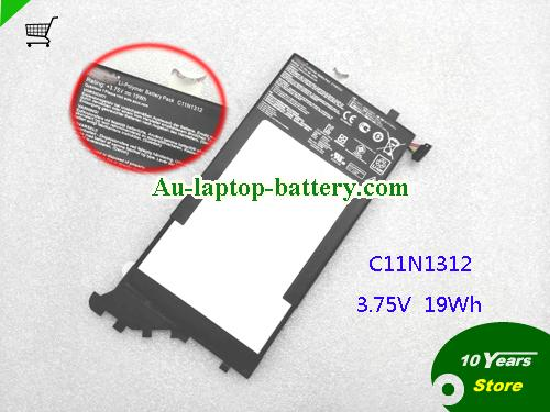 AU ASUS C11N1312 Battery Rating 3.75V 4920mAh 19Wh
