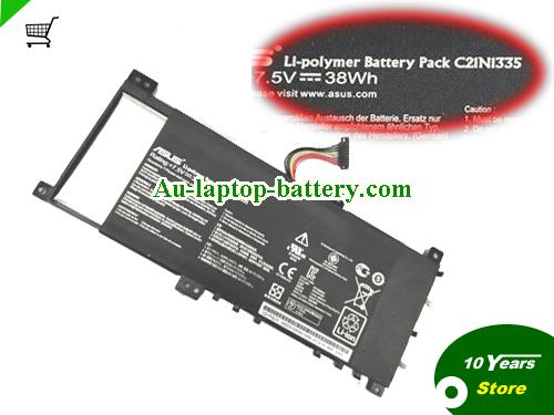 AU ASUS C21N1355 Battery For VivoBook S451 S451LA S451LB Series