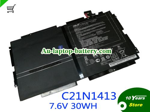 AU ASUS C21N1413 battery For Transformer Book T300 T300A 7.6V