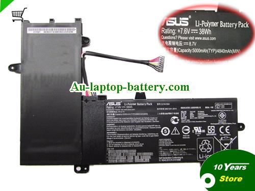 AU ASUS C21N1504 Battery For TP200SA Series Laptop 38Wh 7.6V