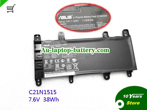 AU ASUS C21N1515 Battery 7.6V 38Wh For R753 X756 Series