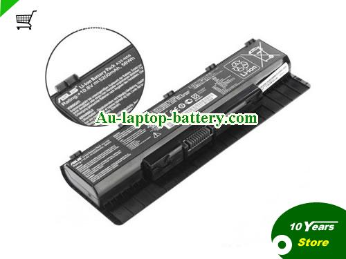 ASUS A32-N56 Battery 5200mAh, 56Wh  10.8V Black Li-ion
