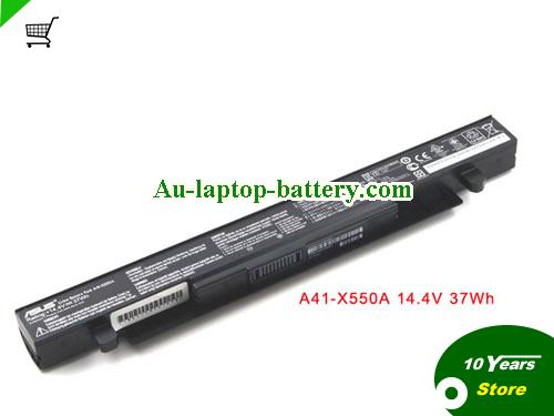 AU Genuine ASUS X550 A41-X550 A41-X550A battery for ASUS X550C X550B X550V X550D X450C X450 X452 Battery 14.4V 37WH