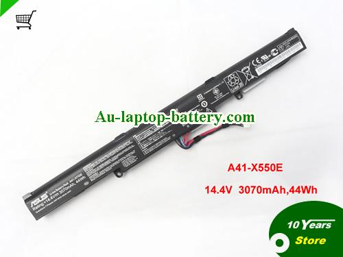 AU A41-X550E X550E 14.4V 44Wh Battery for ASUS A450 A450JF K550E X450 X450J series Notebook