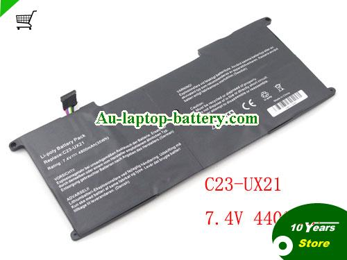 AU Replacement C23-UX21 Battery for ASUS Zenbook UX21 UX21E Series 35Wh