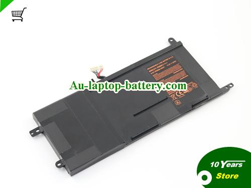 AU New Genuine Clevo P650BAT-4 6-87-P650S-4U31 For Clevo P650SG P650SA P650SE Laptop 14.8V 60Wh
