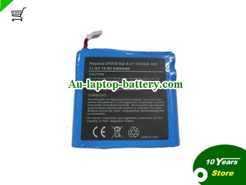 HYPERDATA 4700 Battery 4400mAh 14.8V Blue Li-ion