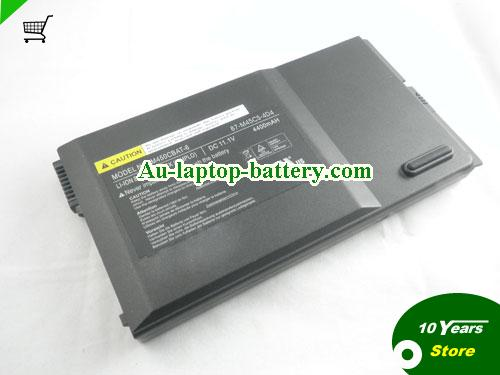 CLEVO 87-M45CS-4D4 Battery 4400mAh 11.1V Black Li-ion