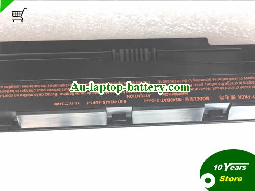 AU Clevo N240BAT-3 battery 6-87-24JS-4UF1-1 24Wh 11.1V