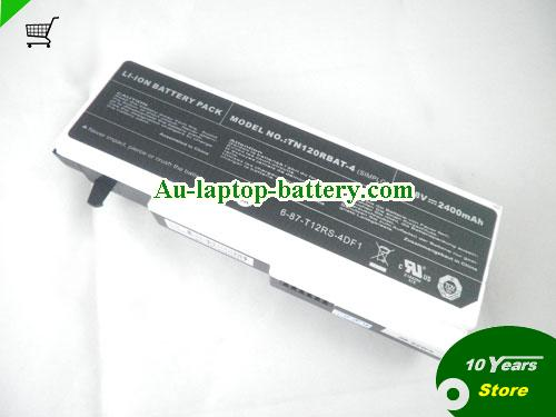 CLEVO Tablet PC ET1206 Series Battery 2400mAh 14.8V Black and White Li-ion