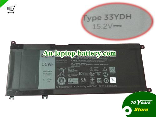 AU DELL 33YDH Battery For inspiron 17 7778 7779 Laptop, 15.2v 56Wh