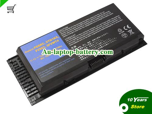 Dell 97KRM Battery 7800mAh 11.1V Black Li-ion