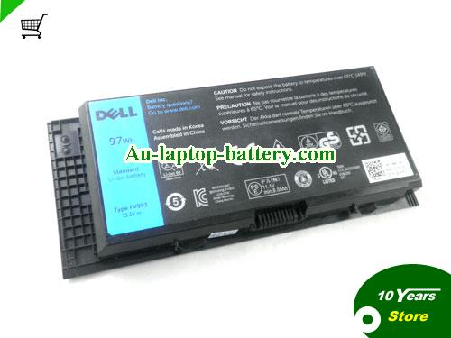 AU Genuine FV993 CN-0JHYP2 JHYP2 312-1178 Battery For Dell Precision M4600 M6600 93Wh
