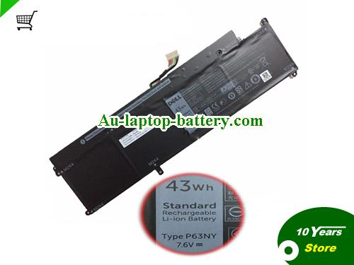 AU Dell P63NY Battery For Latitude 13 7370 Latitude 7370 N3KPR
