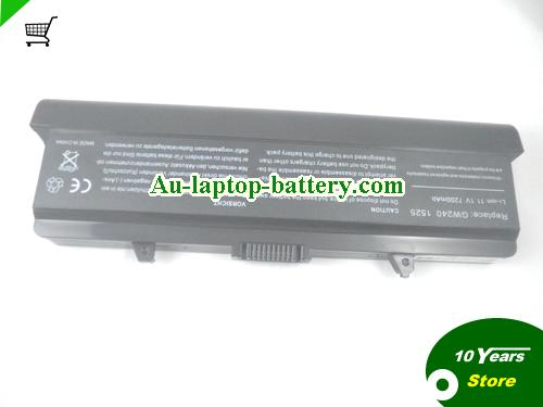 Dell RU573 Battery 7800mAh 11.1V Black Li-ion