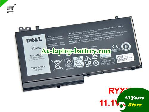AU Genuine DELL RYXXH 38Wh Laptop battery