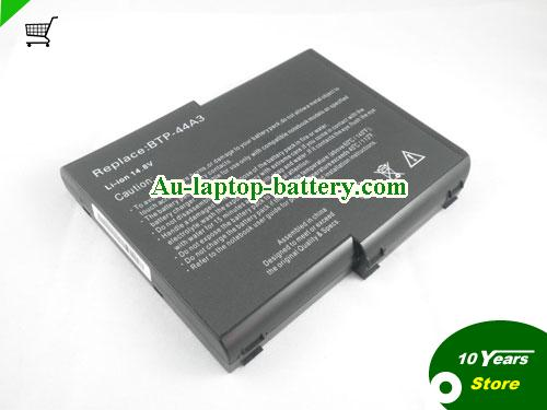 ACER BTP-44A3 Battery 6600mAh 14.8V Black Li-ion