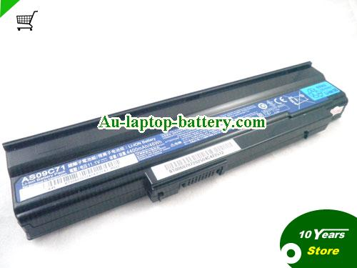 AU Original / Genuine  ACER AS09C71, Extensa 5635Z-432G16Mn, LX.EE50X.050, Extensa 5635Z Series,  Black, 4400mAh 10.8V