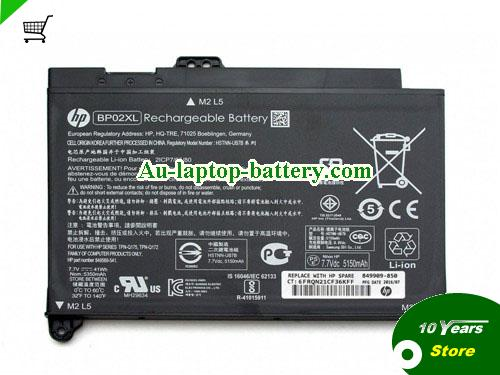 HP 849909-855 Battery 41Wh 7.7V Black Li-ion