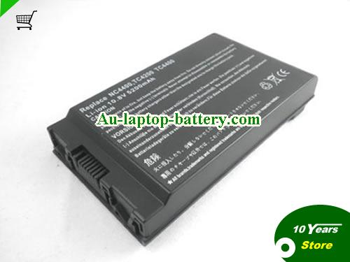 AU New and high quality  HP COMPAQ HSTNN-LB12, 383510-001, Business Notebook NC4200 Series, HSTNN-UB12,  Black, 5200mAh 10.8V