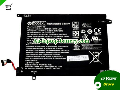 HP 810749421 Battery 8390mAh, 33Wh  3.8V Black Li-ion
