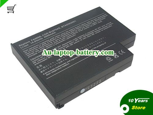 ACER CGR-B/870AE Battery 4400mAh 14.8V Black Li-ion